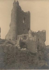 Castillo deteriorado