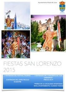 Cartel fiestas San Lorenzo